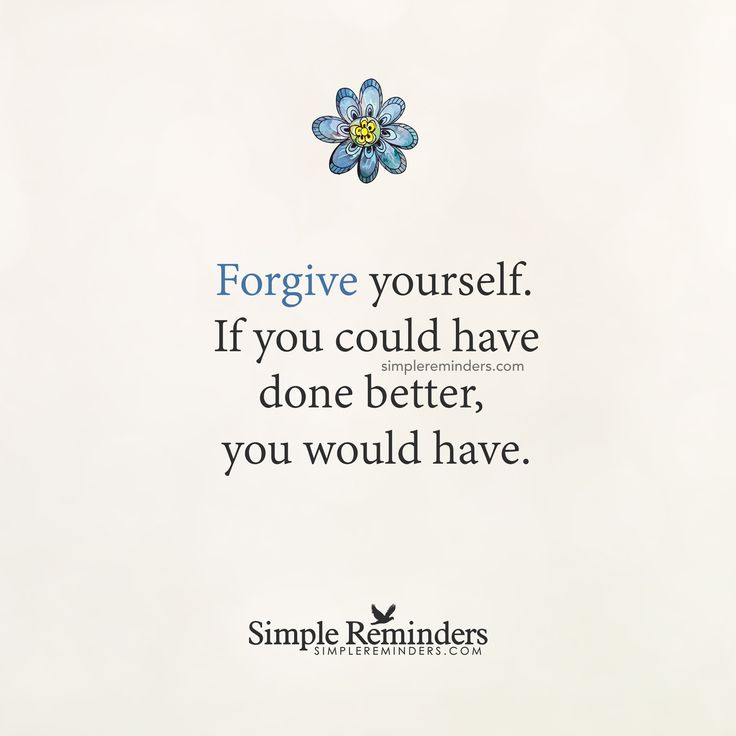 Forgive Yourself Quotes: 25+ Best Forgive Yourself Quotes On Pinterest