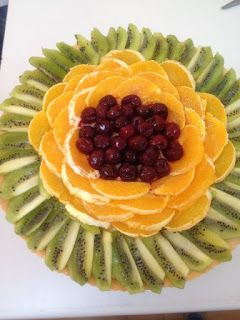 Davet Soframa Hoşgeldiniz...: Meyveli kremalı tart