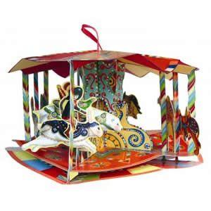 Magic Carousel 3D Pop-Up Book