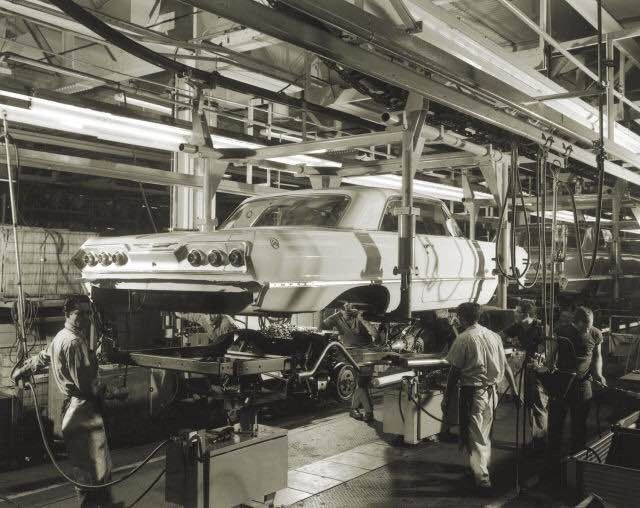 278 Best Gm Assembly Line Images On Pinterest Assembly