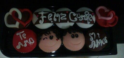 Cupcakes mensaje Dulce Tentación Popayán