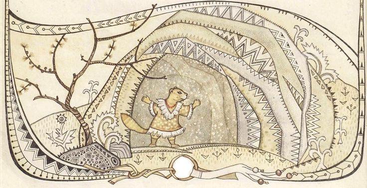 Народное искусство чукчей.  В иллюстрациях Ирины Геннадьевны Павлишиной