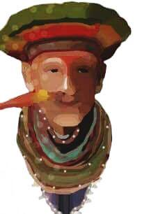 Uno de los platos más típicos de esta región es la ternera a la llanera o mamona, la cual se prepara asando cortes de ternera en chuzos (varas de madera) enterradas en círculo alrededor de una hoguera.