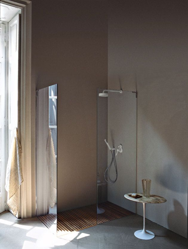 5 Favorites: Scandinavian-Style Showers : Remodelista with wooden shower trays