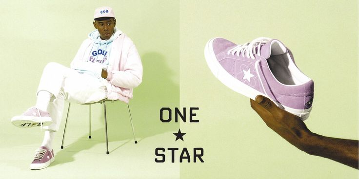 Converse One Star x Golf le Fleur Shoes with Tyler the Creator