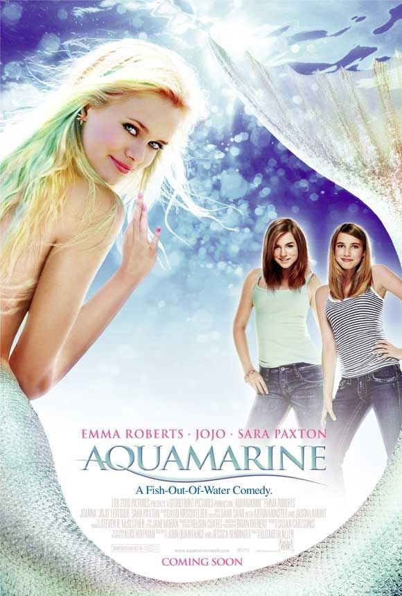 "Aquamarine (2006) | 13 Iconic Mermaid Movies That Aren't ""The Little Mermaid"""