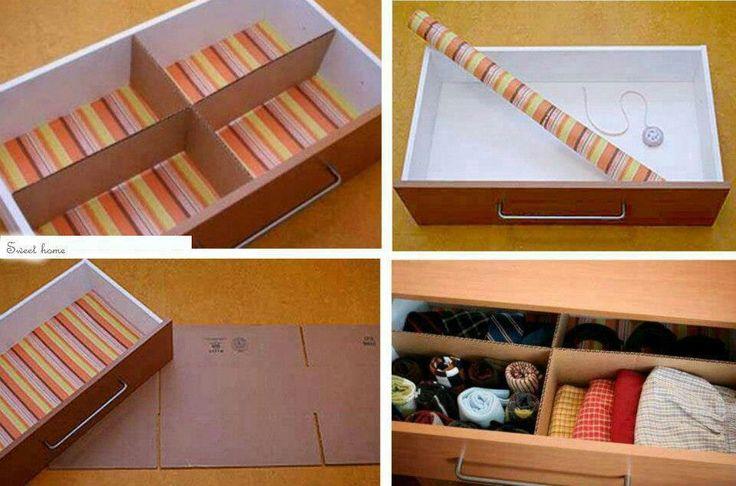 Para ordenar cajones ideas para organizarse en casa - Ideas para ordenar ...