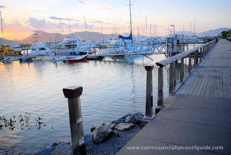 Cairns Marina, Queensland.