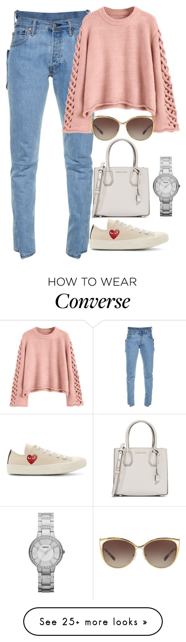 """Untitled #1347"" by hunterxx on Polyvore featuring Vetements, Play Comme des Garçons, MICHAEL Michael Kors, FOSSIL and Michael Kors"