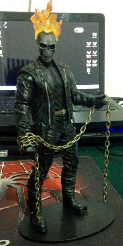 Ghost Rider (Ghost Rider) Custom Action Figure