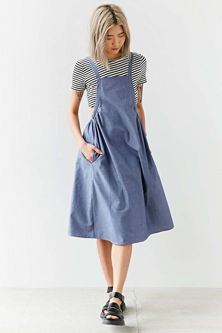 Best 25+ Apron dress ideas on Pinterest