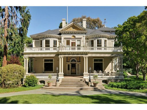 Amazing deck and yard on this bayarea victorian home