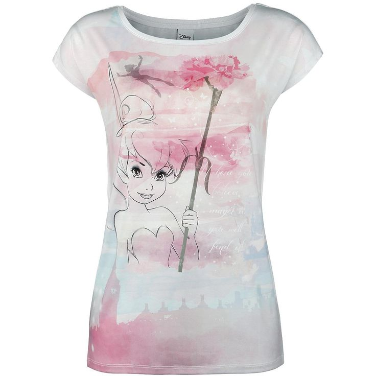 Tinker Bell - Flower - T-shirt från Peter Pan