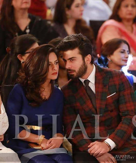 Fawad Khan with his lady love!