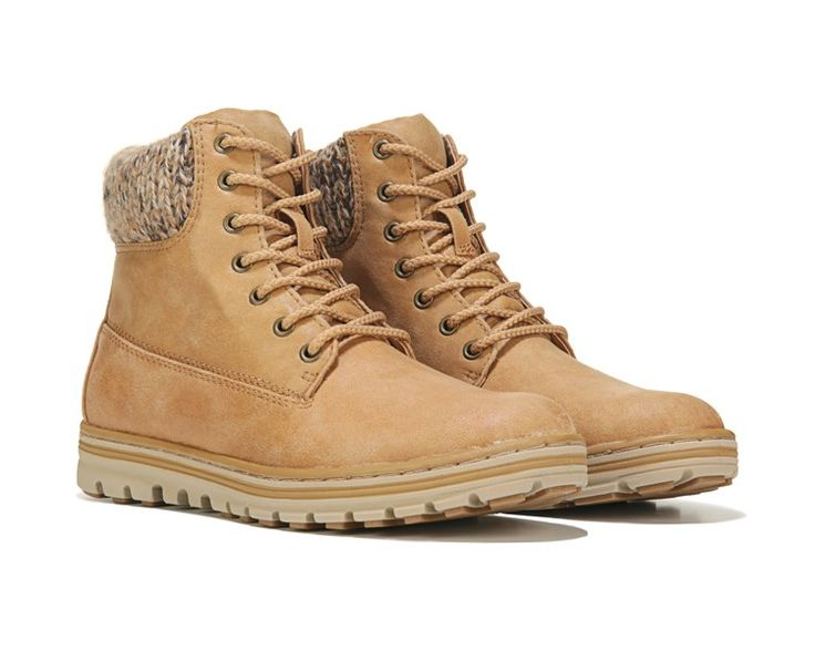 Cliffs by White Mountain Kudrow Lace Up Boot Wheat