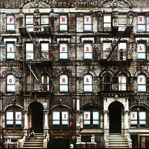 ☮ American Hippie Classic Rock Music ~ Album Cover Art . . Led Zeppelin  'Physical Graffiti'