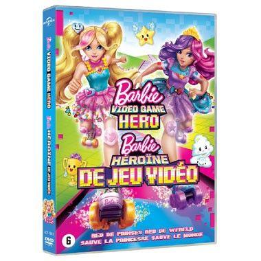 DVD Barbie In Video Game Hero