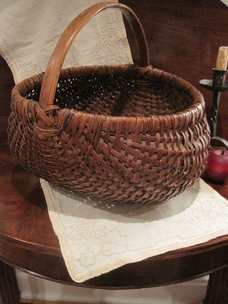 A Woven Dress Featuring An Allover: 17 Best Images About Primitive Baskets And Boxes On