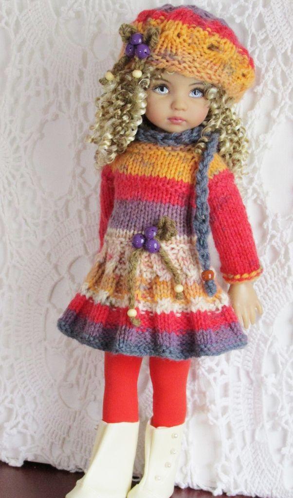79 best dolls clothes images on Pinterest | Puppenkleidung, Mädchen ...