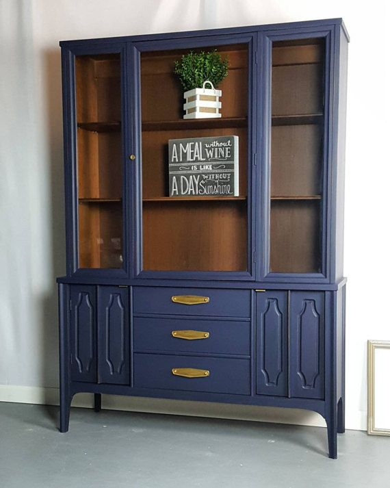 Best 25+ Blue china cabinet ideas on Pinterest | Painted ...