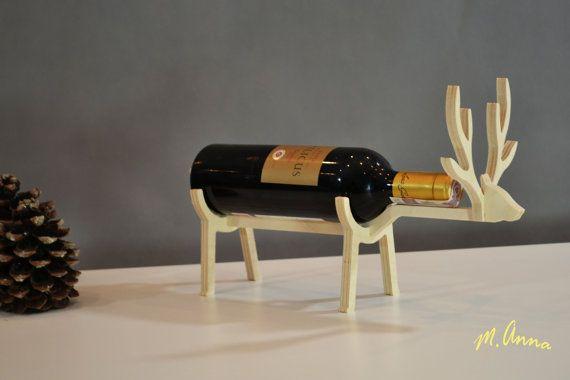Plywood Wine holder Wooden wine rack Wine by Woodplay24 on Etsy