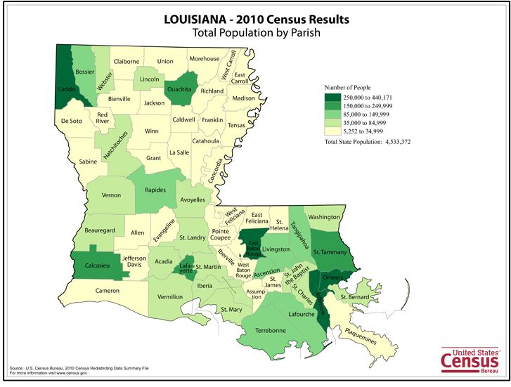 Louisiana Became The Nation S State On April When Admitted To The United States Louisiana Had A Population Of Approximately In Called The Pelican State