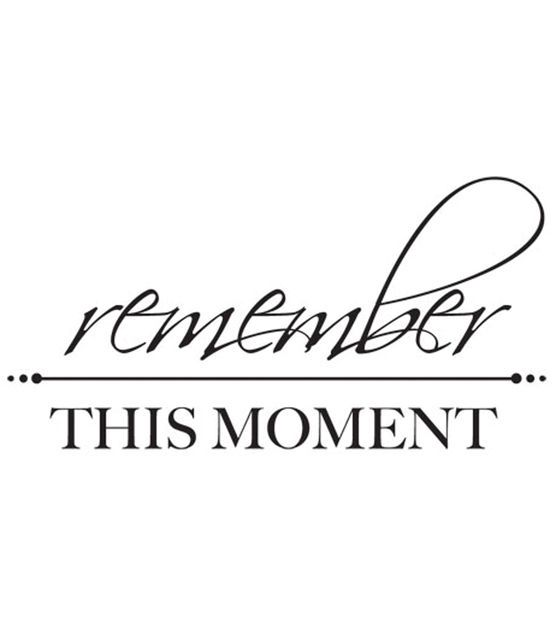 """3""""X5""""-Remember This Moment Words $2"""