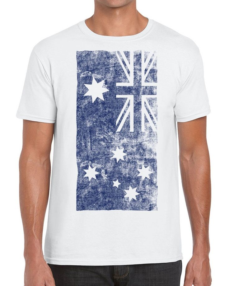 Awesome Tshirts - Flagged - Australian T-shirt This Awesome T-shirt comes with the great responsibility of bearing the flag. Make us proud.