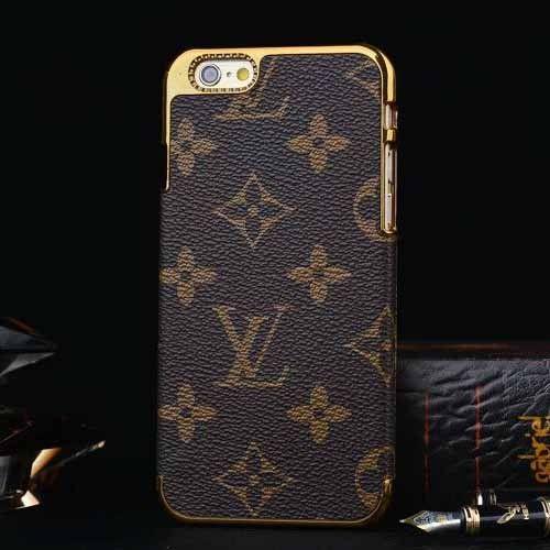 Louis Vuitton iPhone 6 Case LV iPhone 6 Plus Clip-on Cover Monogram Canvas