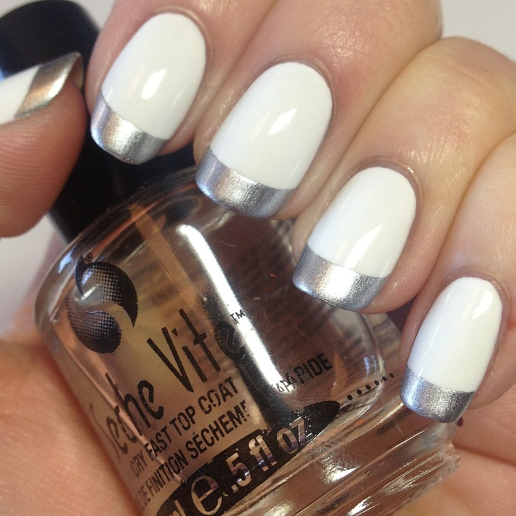 Tip Silvers: Best 25+ Silver Tip Nails Ideas On Pinterest