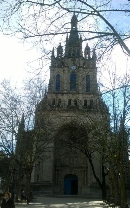 basílica de Begoña, o la mujer (madre protectora) de Bilbao