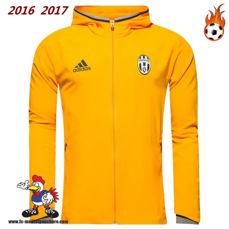 Faibles Ventes Veste Juventus Jaune Seson 16-17 Replica