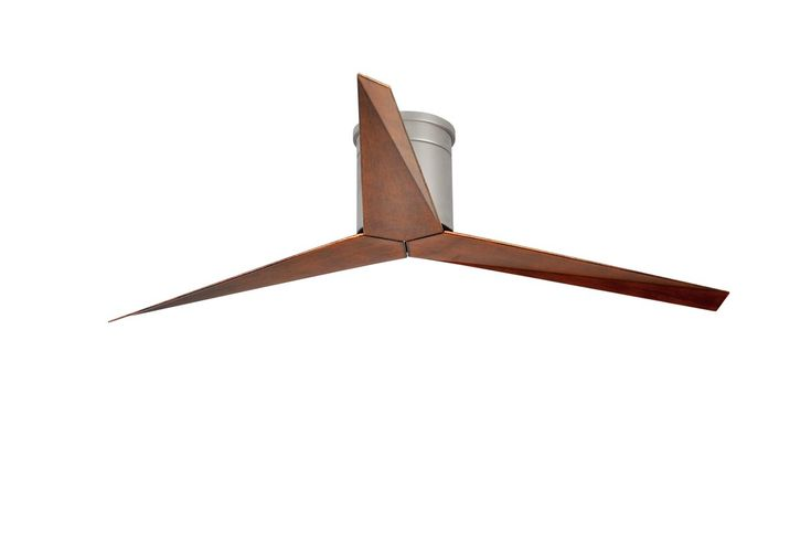 "56"" Hedin 3-Blade Hugger Ceiling Fan with Remote"