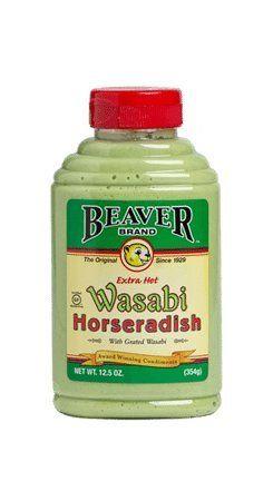 Beaver Brand Wasabi Horseradish 354g Beaver Brand https://www.amazon.co.uk/dp/B0194925UK/ref=cm_sw_r_pi_dp_x_qEniAbYZ2WT7H