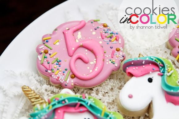 Sprinkles and Unicorns   Cookies In Color   Shannon Tidwell