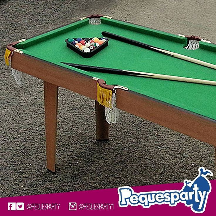 Contando siempre con lo mejor en fiestas tu#pequepuede disfrutar de nuestros#juegosde mesa como la de#pool ideal para que desarrolle un poco de puntería y concentración.  PequesParty Fábrica de Sonrisas!  #pooltable#kids#billar#boardgame#mcbo#vzla#entretenimiento#party#pequesparty#fun#diversion#jugar#games#chilling#amazing#yeah#261#marketing