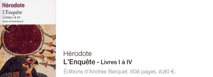 Hérodote, un pionnier des voyages d'exception - Edition du soir Ouest France - 11/07/2017