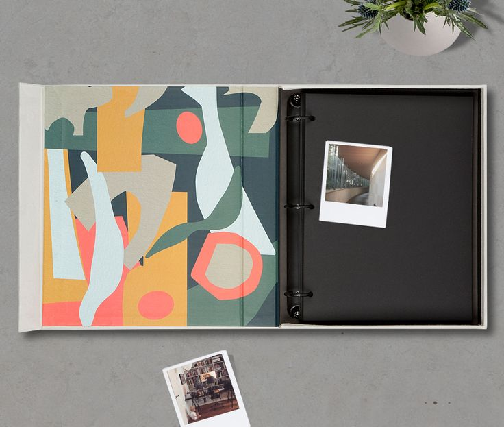 Coffee Table Photo Album - Family etc.