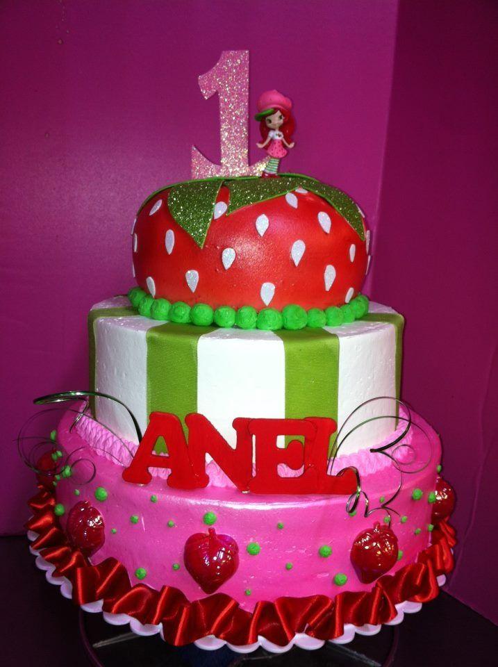 Strawberry Shortcake Birthday Cakes Pictures