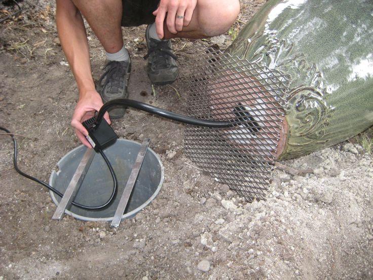 Best 25 diy water fountain ideas on pinterest diy for Homemade pond fountain ideas