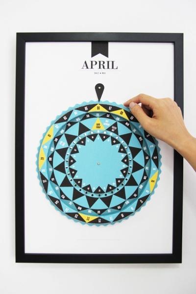 Creative Table Calendar Ideas : Best ideas about calendar on pinterest