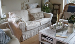 Ikea Ektorp Sofa Cover - Linen