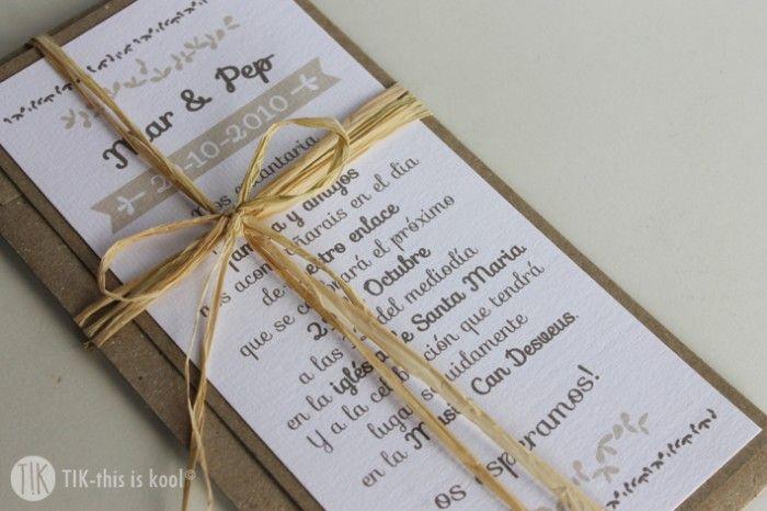 Mar & Pep. #invitaciones #boda #personalizado #handmade