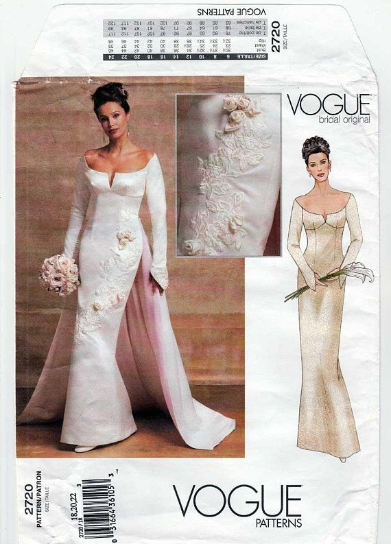 5486b4a836 Vogue Bridal Original Wedding Gown Off the Shoulder Dress