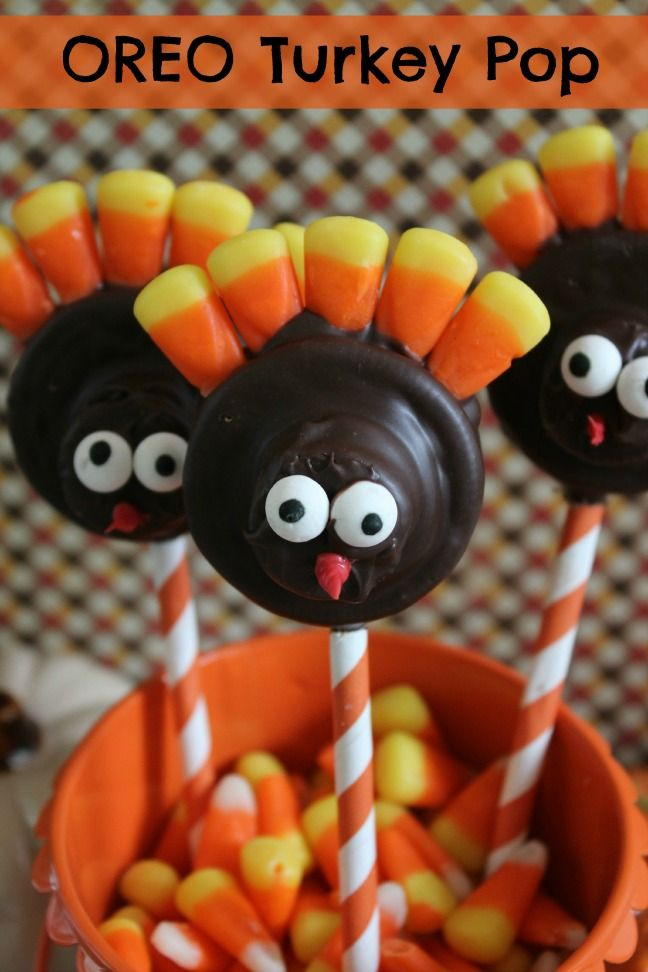 Oreo Turkey Pop