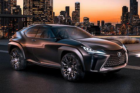 レクサス(トヨタ自動車)は9月29日(現地時間)、コンパクトクロスオーバーのコンセプトカー「UX Concept」を、2016年パリモーターショーで世界初公開した。
