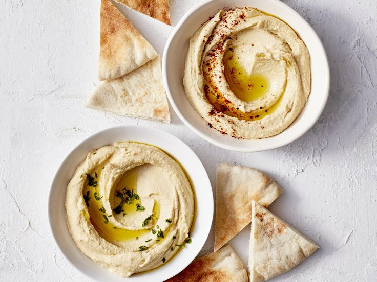 This Hummus Hack Will Change the Way You Dip | As it turns out, pita isn't the ultimate dipper.