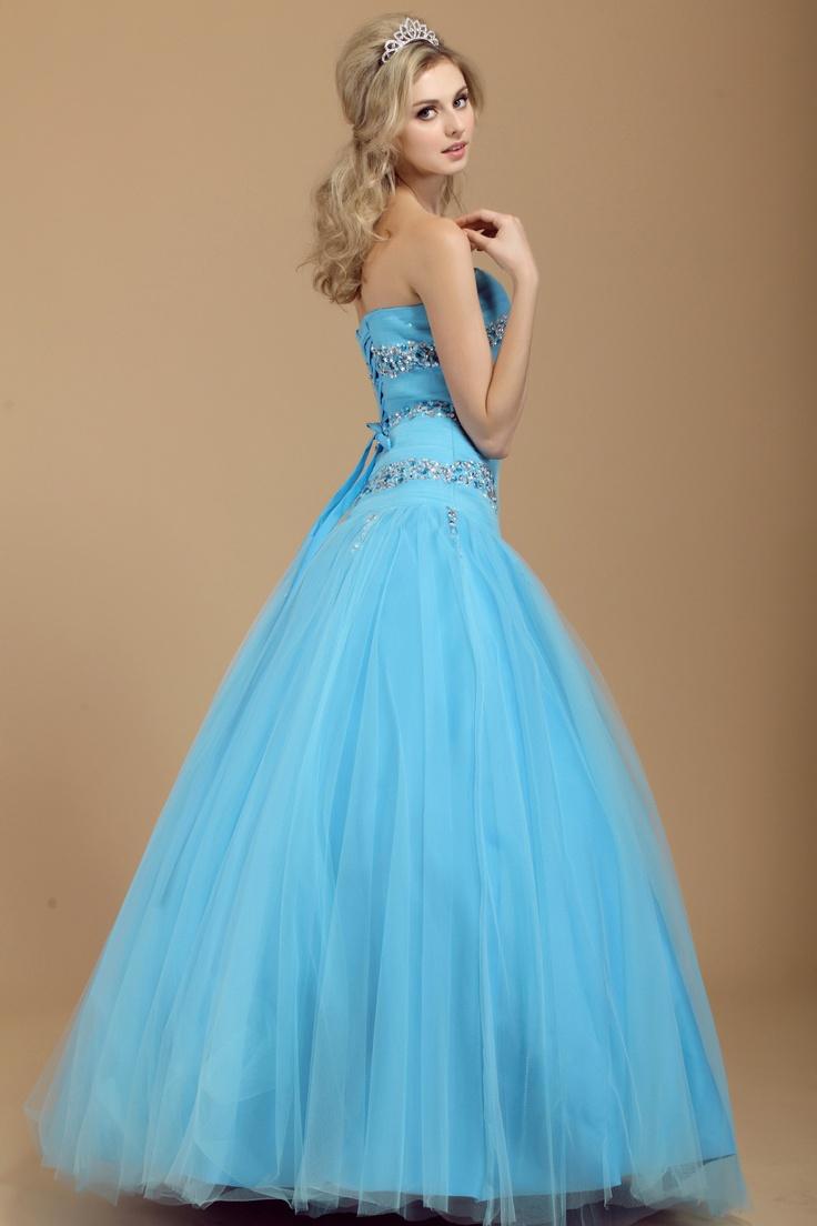 59 best Blue images on Pinterest | Cute dresses, Formal evening ...