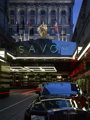 London: The Savoy- Check out this posh London hotel! No two rooms are alike!