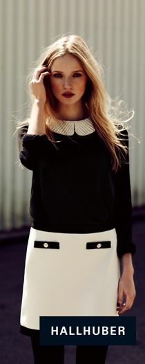 Hallhuber - black and white